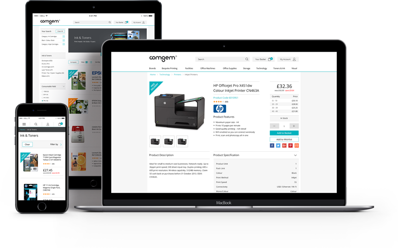 Fully Integrated Ecommerce Website